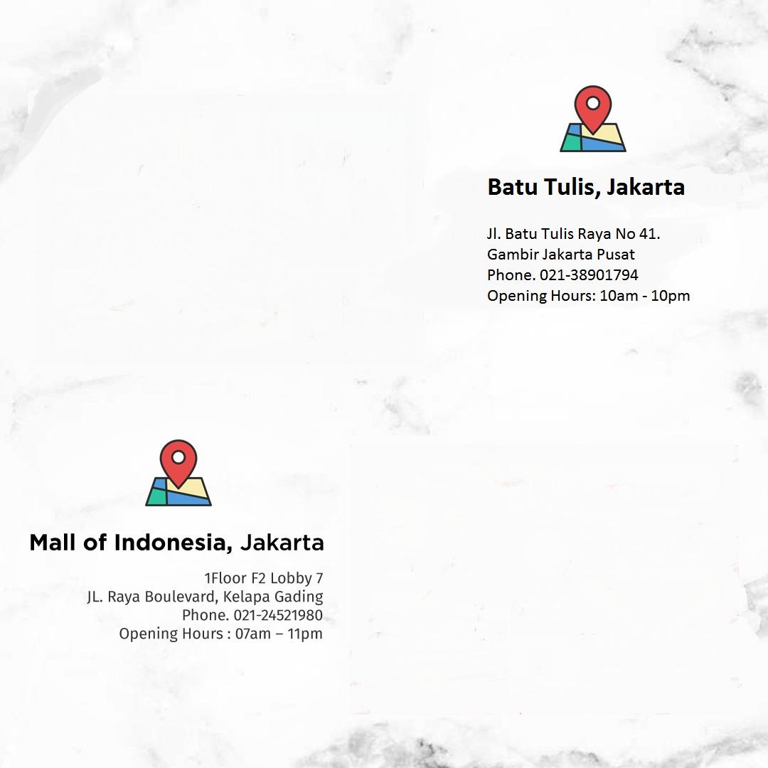 Lokasi Restoran Masakan Khas Jepang di Jakarta
